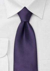 Purple neckties Solid color purple tie