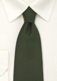 Dark Green British Silk Tie