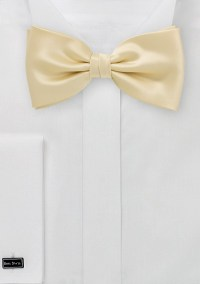 Elegant Champagne Bow Tie