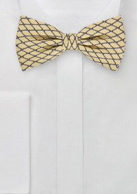 Modern Bow Tie in Maize Yellow