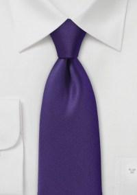 Mulberry Purple Necktie
