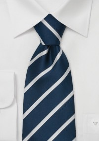 Navy Blue Striped Neckties Navy Blue Tie With White Stripes