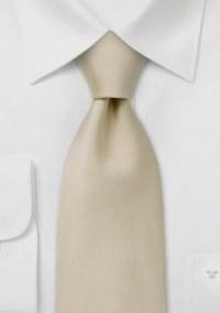 Single colored silk tie