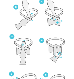 1 start with the bowtie lying face up adjust the bowtie so right side is shorter than the left the end on the left will be referred to as a and the  [ 1800 x 4304 Pixel ]