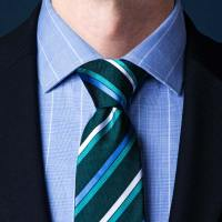 How To Tie A Simple Knot (Oriental Knot) | Ties.com
