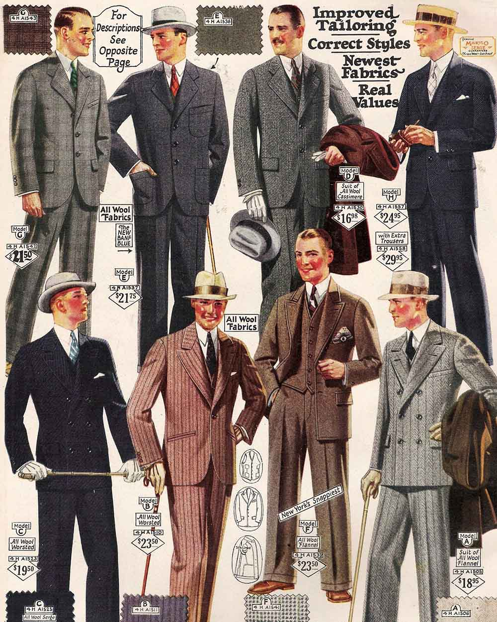 1960 Outfit Men Fashion Stylish