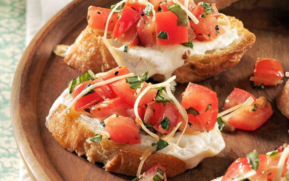 Easy Appetizers Bruschetta