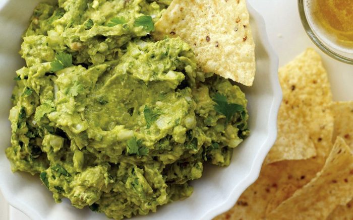 easy appetizers guacamole