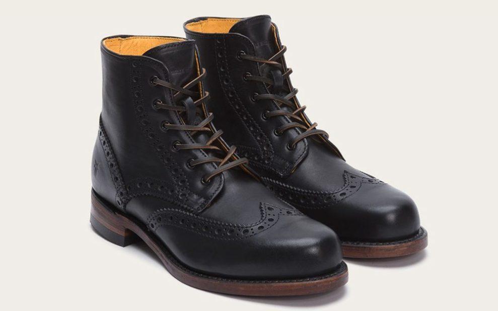 men's boots wingtip boot