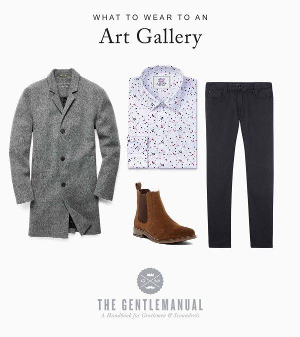 Men' Guide Wear Night Gentlemanual