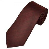 Dark Burgundy Self Striped Men's Tie from Ties Planet UK