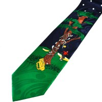 Frustrated Golfer Funny Novelty Tie from Ties Planet UK