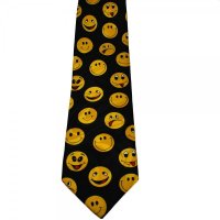 Funny Smiley Faces Novelty Tie from Ties Planet UK
