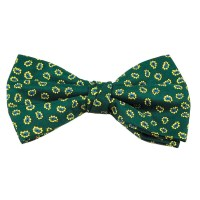 Green With Yellow & Blue Paisley Patterned Men's Bow Tie ...