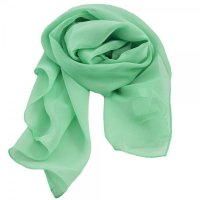 Mint Green Chiffon Scarf from Ties Planet UK