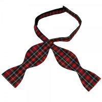 Modern Stewart Tartan Patterned Self Tie Bow Tie from Ties ...