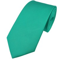 Plain Aqua Blue Silk Tie from Ties Planet UK