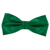 Plain Forest Green Bow Tie from Ties Planet UK