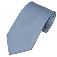 Plain Light Blue Silk Tie from Ties Planet UK