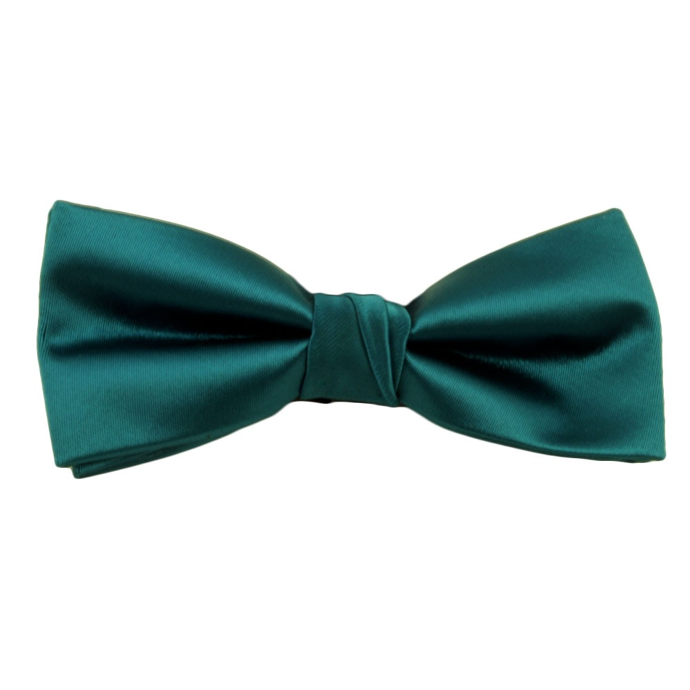 Plain Teal Green Bow Tie from Ties Planet UK