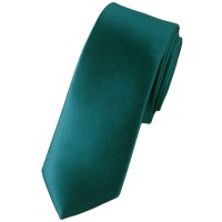 Plain Teal Green Skinny Tie from Ties Planet UK