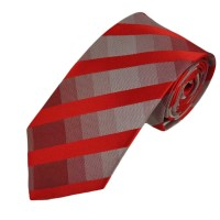 Red Checked Boys Tie from Ties Planet UK