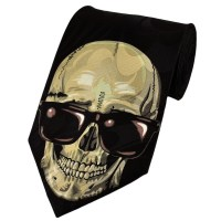 Skull In Sunglasses Novelty Tie from Ties Planet UK
