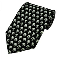 Tiny Skulls Novelty Tie from Ties Planet UK