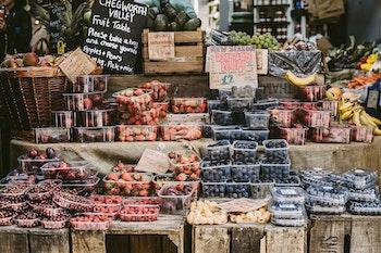Eine tolle Alternative für einen Nachmittagssnack: Eine Obstbar