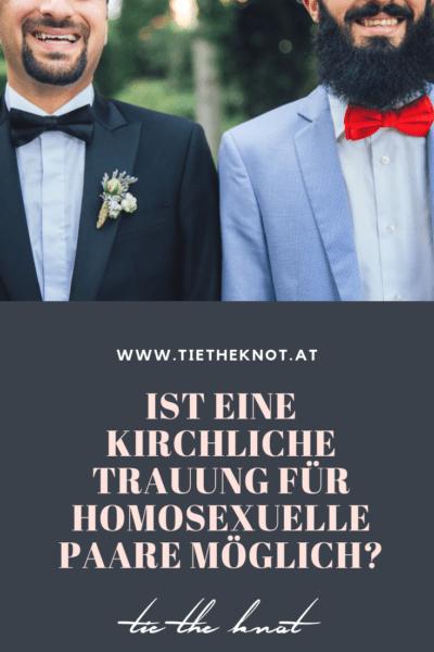 Kirchliche Trauung für homosexuelle Paare in Deutschland und Österreich