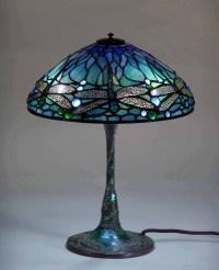 Dragonfly Tiffany Lamp #1585