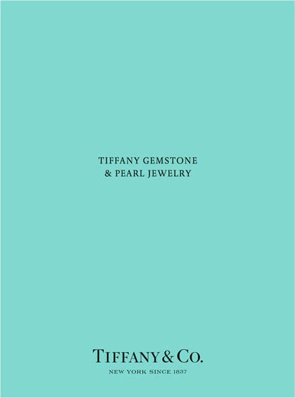 Tiffany & Co Catalogues & Brochures