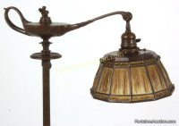 Tiffany Studios Aladdin Linenfold Floor Lamp - Tiffany ...