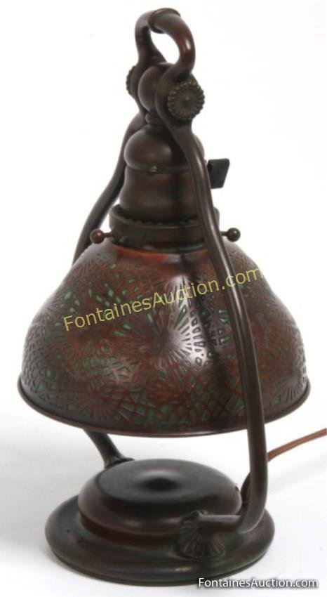 Tiffany Studios Pine Needle Desk Lamp