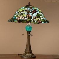 Lampe tiffany Lotus - Lampes de table Tiffany - Lampes ...