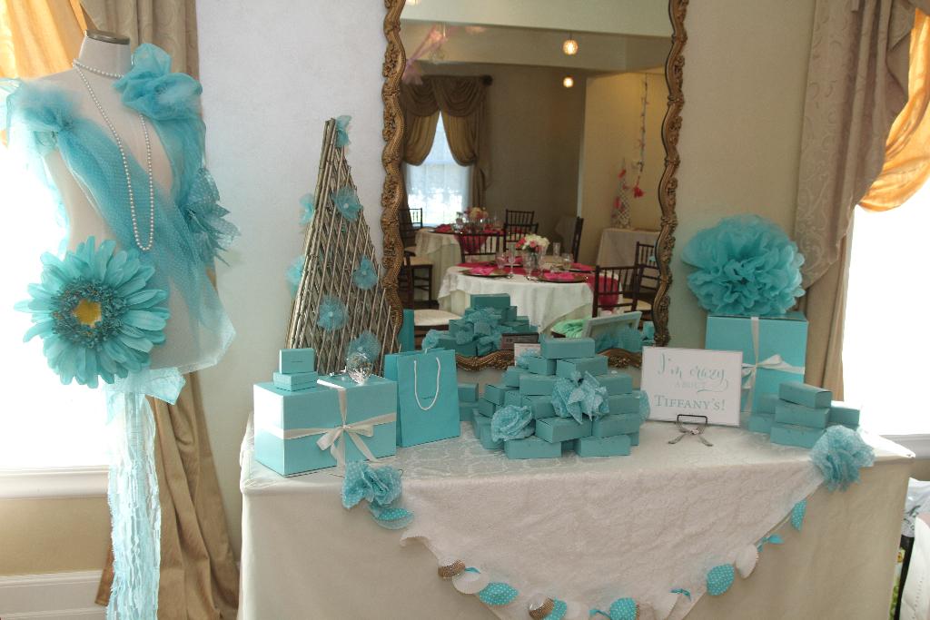 Top Bridal Shower Venues  Tiffany Juliet House