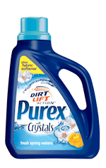Purex detergent plus Fabric Softener with Crystals Fragrance