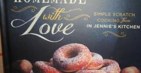 Homemade with Love: Simple Scratch Cooking from In Jennie's Kitchen Recipe Book Review & Giveaway