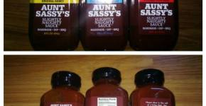 Aunt Sassy Sauces Review & Giveaway