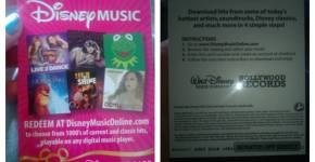 Disney Music Gift Cards Review