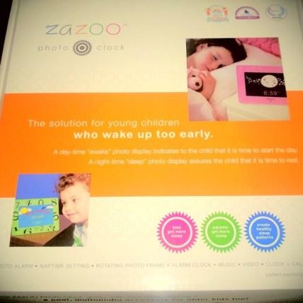 ZaZoo Kids clock
