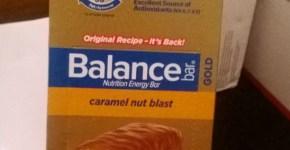 Balance Bar Review & National Caramel Month