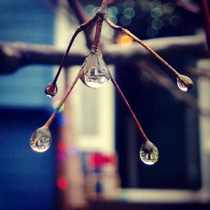 Nokia Camera, Rain Drops reflection