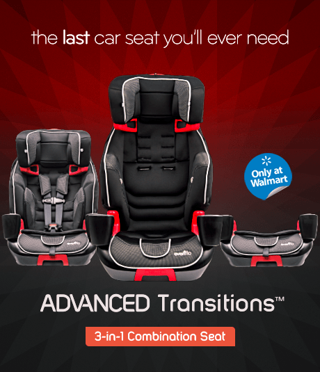 ADVANCED Transitions  3-in-1 Combination Seat
