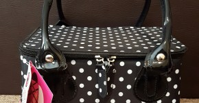 Creative Options Polka Dot Tapered Tote