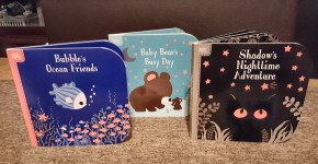 Touch-and-Feel Board Books from Silver Dolphin