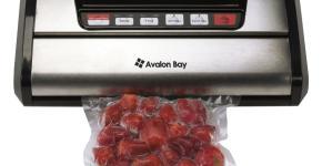 Avalon Bay FoodSealer300S Vacuum Sealer for Food Storage