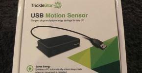 TrickleStar's USB Motion Sensor