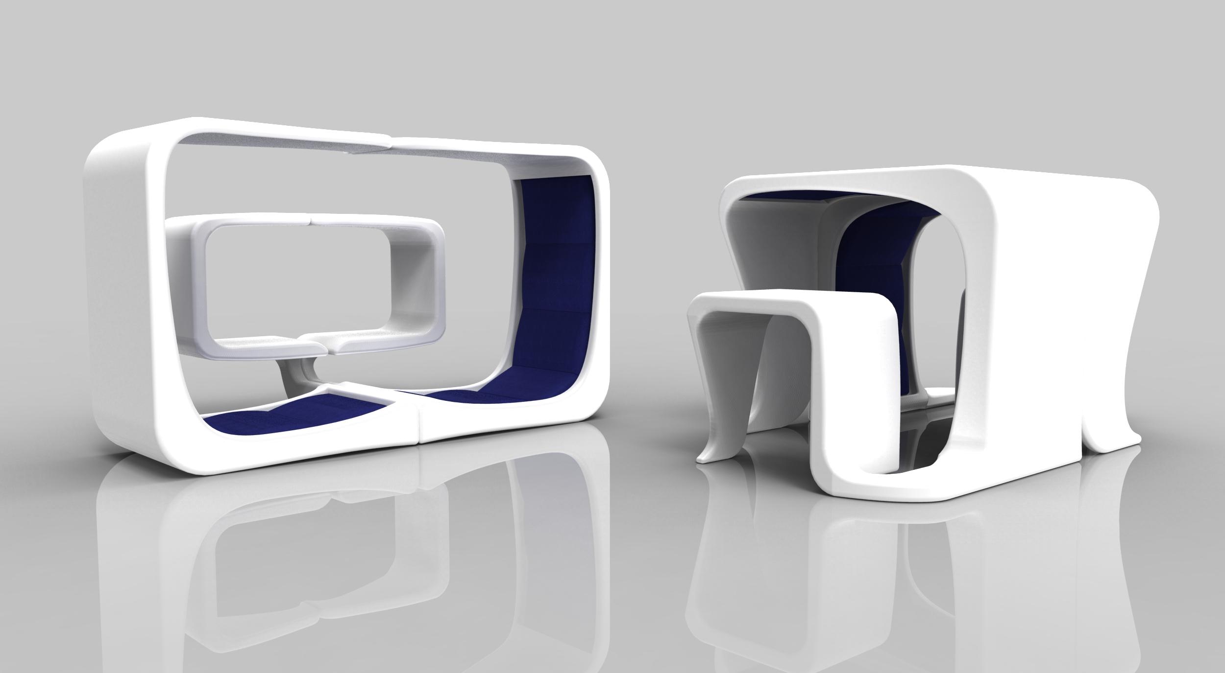 Curv Multi Use Furniture Technology