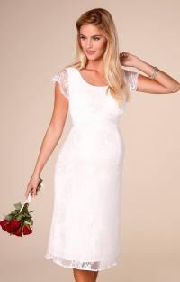 April Wedding Nursing Lace Dress Ivory - Maternity Wedding ...